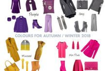 Winter Trends for 2018 / Hot trends for Autumn / Winter 2018