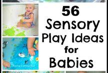 babies sensory play