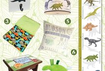 Dinosaur Toddler Decor - Big Boy Room / What a fun and exciting room for your little one to explore the history of dinosaurs in their very own dinosaur room!
