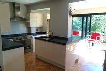 Polished Concrete Worktops/Countertops / In-situ cast concrete worktops & countertops