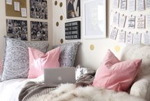 Dorm Room / Decor ideas for my room at uni next year