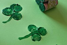 St. Patrick's Day Activities / Shamrocks and Leprechauns