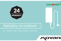 Lacné batérie a ac adaptéry na notebook.