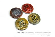 Polymer Clay Beads Inspiration