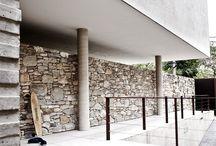 toscaanse Stenen muur