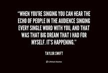 Singing / About the most beautiful thing in the world