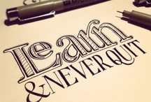 Lettering / by Gail Morgan
