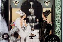 Paper mania art Deco cards