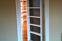 Cool door ideas and ahelves / by Bethany Medina