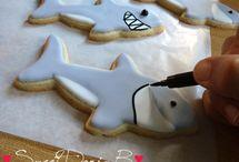 Shark Week / Cookies & Crafts to celebrate Shark Week... the most JAWESOME week of Summer!