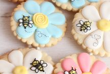 ciastka kwiaty