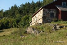 Suomalainen maatila / Farm in Finland / All things traditional to a Finnish Farm.