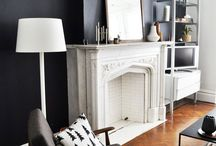 Fireplace {centerpiece of a room} / Fireplace inspiration