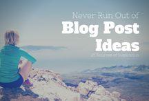 Blog ideer