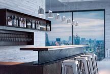 Barras / Barras de bares modernos