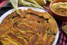 Mısırunlu patlıcan kızartm