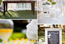 Wedding Furniture / The white granite color in the lifetime tables and chairs makes it a very popular wedding style. Wedding designers will often use tablecloths, but sometimes they do not since the tabletops are already brilliant white. This pin is designed to inform wedding planners and to give ideas on how to set up the tables and chairs for that gathering.
