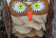 Owl diy / Gufi in tutte le salse...fatti  a mano