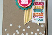 Stampin Up: Amazing Birthday / Stampin' Up! Amazing Birthday Stamp Set. SU Amazing Birthday Cards