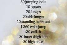 Workout Time / Workout options. Great for every day life