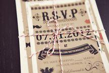 Invitation/Stationary / Wedding invitation and stationary