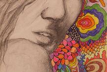 """Exhibition """"ROSA BALDINI"""" / A artista brasileira Rosa Baldini apresenta uma série de desenhos assumidamente figurativos e extraídos do universo feminino. Os trabalhos reflectem estados de espírito, situações vivenciadas ou até mesmo imaginadas, momentos do quotidiano em que a mulher se deixa contemplar. A linguagem de Rosa Baldini reflecte sua concepção de mundo, sua capacidade de estar absorvida pela arte quase que organicamente, de tê-la dentro de si (José Roberto Moreira – curador e galerista)"""