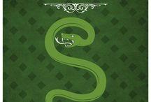 Slytherin / Salazar Slytherin (Snakes)