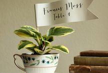 X Planters n Outdoorsy Decor! / by Tonia Patton