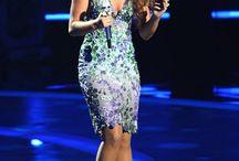 American Idol | Ema Savahl / Finalist Haley wearing Ema Savahl Dress at American Idol