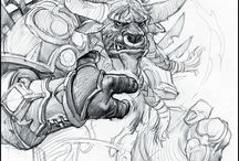 wow charakter drawing