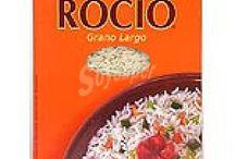 Arroz Rocío y arroz brillante.