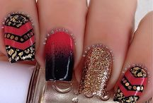 Uñas / Diseño de uñas súper UAAUU