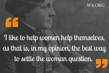International Women's day 2016 / Quotes and Stats about Women Empowerment and Gender Inequalities