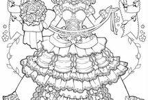 dessin coloriage magnifique