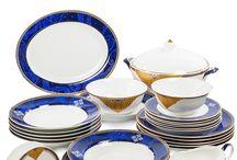 Посуда из костяного фарфора Luxury / Подтверждением высокого качества фарфоровых изделий является фирменное клеймо Pavone, которое наносится на нижнюю сторону изделия. Наличие такого клейма означает, что изделие признано безупречным.