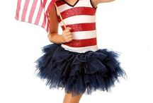 Patriotic-Americana Outfits / by Everything But The Princess