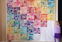 Tickertape quilts / by Becky Biddle