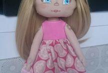 My creations  / Here are my dolls I sew myself
