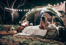 Boho festival Camp