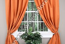Tab Top Curtains / by Swags Galore