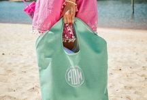 Monogrammed Beach Collection