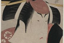 Japanese Art, pre-1915 / All photos from The Library of Congress - Digital Collections