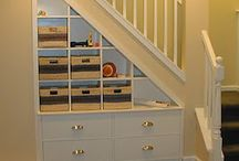 Stair cupboards