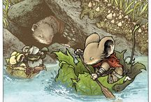 Mouse Guard / Artwork related to David Petersen's famous comic book and RPG, Mouse Guard.