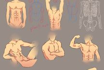 How To: Draw and Color Bodies and Body Parts / How to draw and color bodies and Body Parts! Also with pictures of different body types, sizes and poses for inspiration!