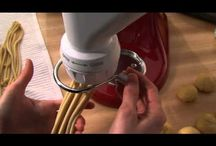 Cook & Cuisine pâtes fraîches KitchenAid / Recettes de pâtes fraîches avec l'accessoire KitchenAid