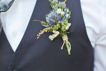 Thistle wedding - pink, blue, yelow