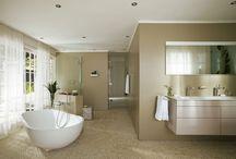 Droombadkamers / De betere badkamer van Sanidrõme past bij uw wensen. Naast functionaliteit is deze immers afgestemd op uw behoefte aan sfeer, design en comfort.