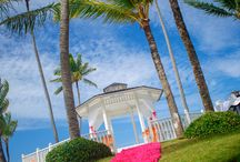 Outdoor Weddings / Plan an unforgettable experience for your destination wedding.