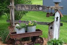country garden decor